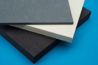Porous Ceramic Tiles for Fluidising powders and granular materials